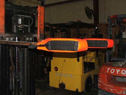 Fork Glove Head Protection Pad Forklift Pads J Mcerins