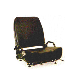 Ultmate Seat With Tilting Frame, Folding Back, Hip Restaint, Retractable Seat Belt