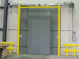 "Ideal Shield Goal Post Door Guard 144""x144"""