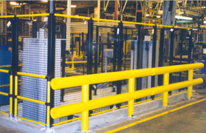 Ideal Shield Two Line Guardrail System