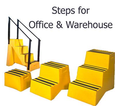 Step and Store Industrial Steps